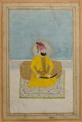 Miniature Portrait of Nadir-shah
