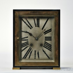 Tiffany & Co. Art Deco Shelf Clock