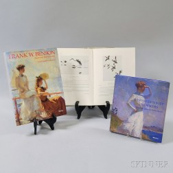 Three Reference Books Related to Artist Frank Benson,