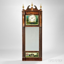 Joseph Ives Looking Glass Clock