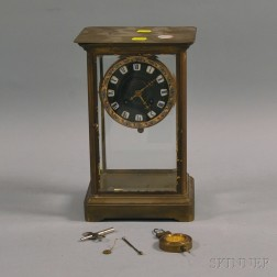 Berger-Walter French Mantel Clock