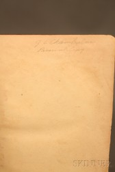 Joshua Lawrence Chamberlain Signed Copy of The Song of Hiawatha