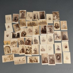 Forty-six Carte-de-visites