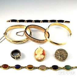 Small Group of Mostly Antique Jewelry