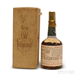 Very Old Fitzgerald Bourbon 8 Years Old 1950, 1 half pint bottle (oc)