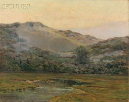 Melbourne Havelock Hardwick (American, 1857-1916)      Marsh View, Possibly Annisquam