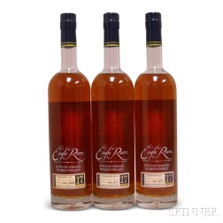 Buffalo Trace Antique Collection Eagle Rare 17 Years Old 2008, 3 750ml bottles