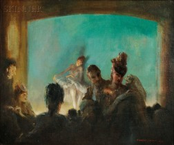Everett Shinn (American, 1876-1953)      Paris Theatre