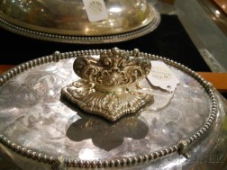 Pair of Shreve, Brown & Co. Sterling Silver Covered Vegetable Dishes