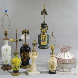 Twenty Miscellaneous Lamps