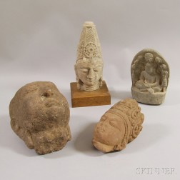 Four Stone Carvings