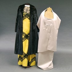 Three Pieces of Lady's Clothing and Outerwear