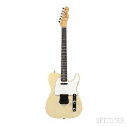 American Electric Guitar, Fender Musical Instruments, Santa Ana, 1966,   Model Telecaster