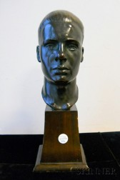 Anglo-American School, 20th Century       Head of a Man