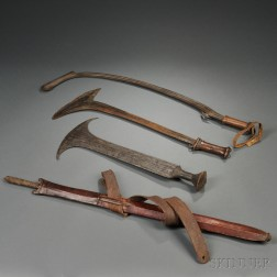 Four African Weapons
