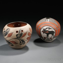 Two Southwest Pottery Jars