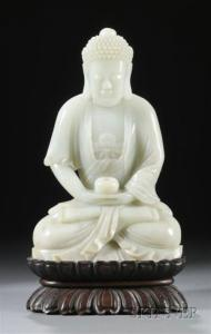 Sold for: $358,000 - Carved Jade Figure