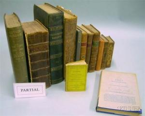 Group of Mostly 18th and 19th Century Leather Bound Titles