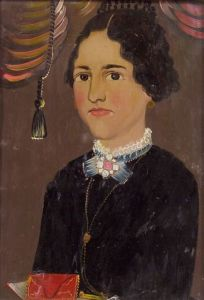 Attributed to William Matthew Prior (American, 1806-1873)    Portrait of Ruth Nickerson.