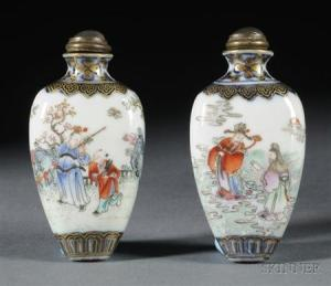 Sold for: $100,725 - Pair of Snuff Bottles