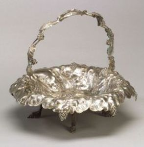 Ball, Tompkins & Black Coin Silver Basket