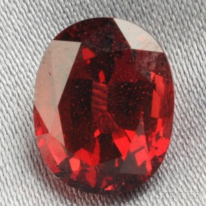 Unmounted Red Spinel