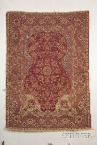 Sold for: $49,938 - Ottoman Court Prayer Rug