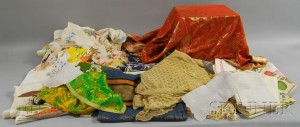 Group of Assorted Textiles