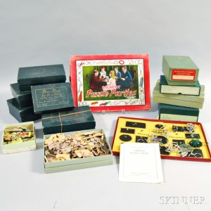 Large Group of Puzzles