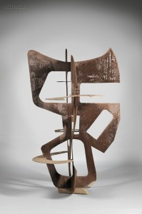 Sold for: $34,365 - Berto Lardéra (Italian/French, 1911-1989)      Untitled [Abstract]