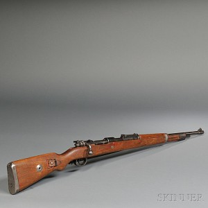 German Mauser Model K98 Bolt Action Rifle