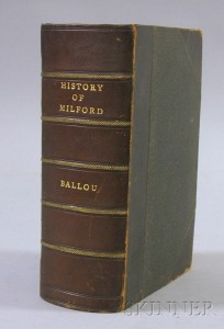 Adin Ballou, History of the Town of Milford