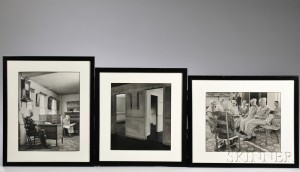 Three Framed Photographs of Canterbury Shaker Village