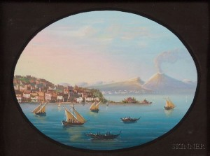 Italian School, 19th/20th Century      The Bay of Naples.