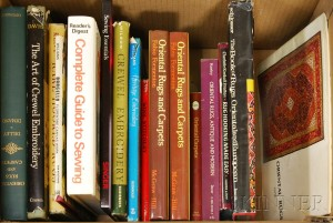 Group of Books on Textiles