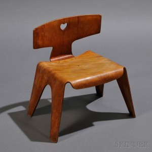 Child's Chair by Charles and Ray Eames
