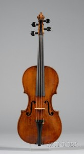 Milanese Violin, c. 1750, Probably Testore Family