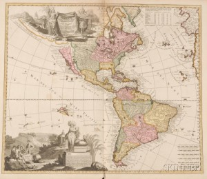 Sold for: $11,163 - (Atlas, World), Visscher, Nicholas