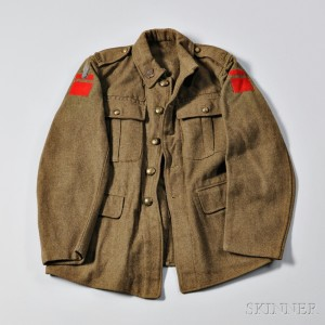 Universal Service Dress Jacket, 2nd Canadian Trench Mortar Battery, 1st Canadian Division