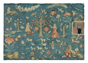 Sold for: $903,000 - The Phillips Family Needlework Picture