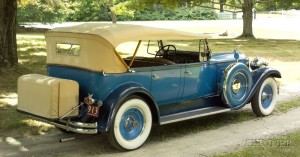 Sold for: $99,500 - *1930 Packard Deluxe Eight Phaeton, Vin # 185236, Model 740