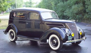 Sold for: $31,725 - *1937 Ford Sedan Delivery Vin # 183642529