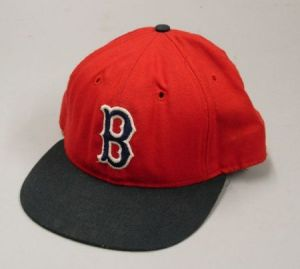 Carl Yastrzemski Boston Red Sox No. 8 Game-Used Hat.