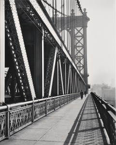 Berenice Abbott (American, 1898-1991)      Manhattan Bridge