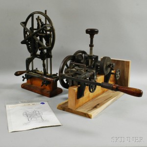 Two Mortise Cutting Machines