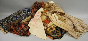 Collection of Assorted Mostly 19th Century American Textiles