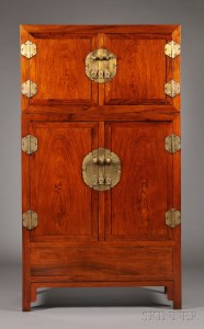 Sold for: $56,288 - Huanghuali   Compound Cabinet