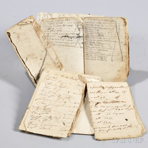 Early Account Books, Connecticut, 1670s-1790s.