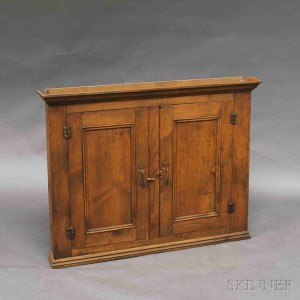 Hanging Wall Cabinet search all lots | skinner auctioneers