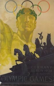 Two 1930s-40s German Color Lithograph Travel Posters